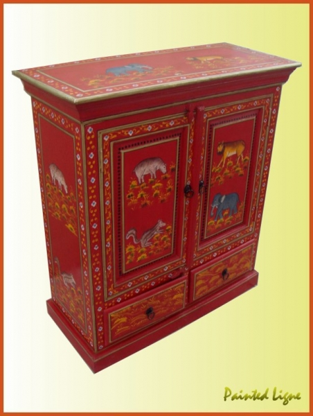 Hand Painted Chest Indian Painted Furniture Manufacturer Manufacturer From Id 167750