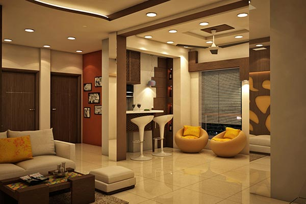 Charmant Residential Interior Designing And Decoration