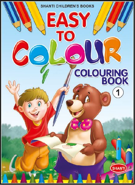 Kids Colouring Books Manufacturer in Delhi Delhi India by Shanti
