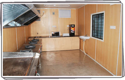 Prefabricated Portable Kitchen By Prerna Porta Cabin Prefabricated Portable Kitchen Id 3975849