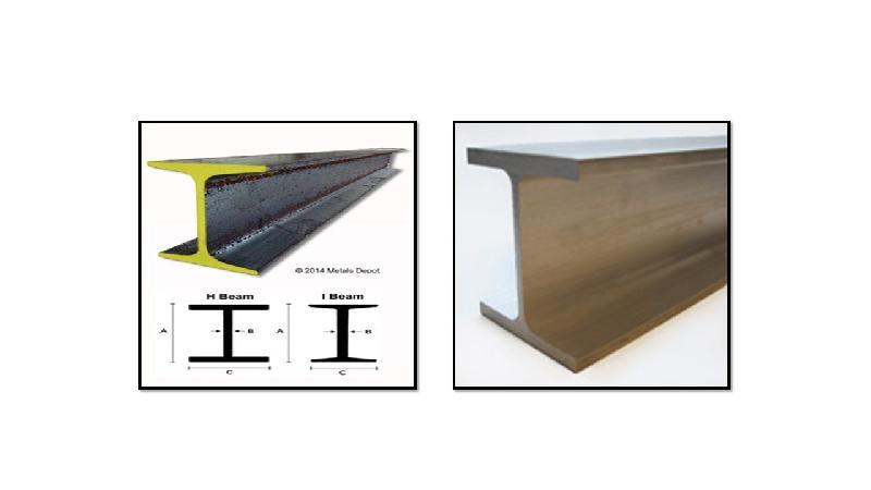 "48/"" Long S3 x 5.7 Standard Steel I-Beam"