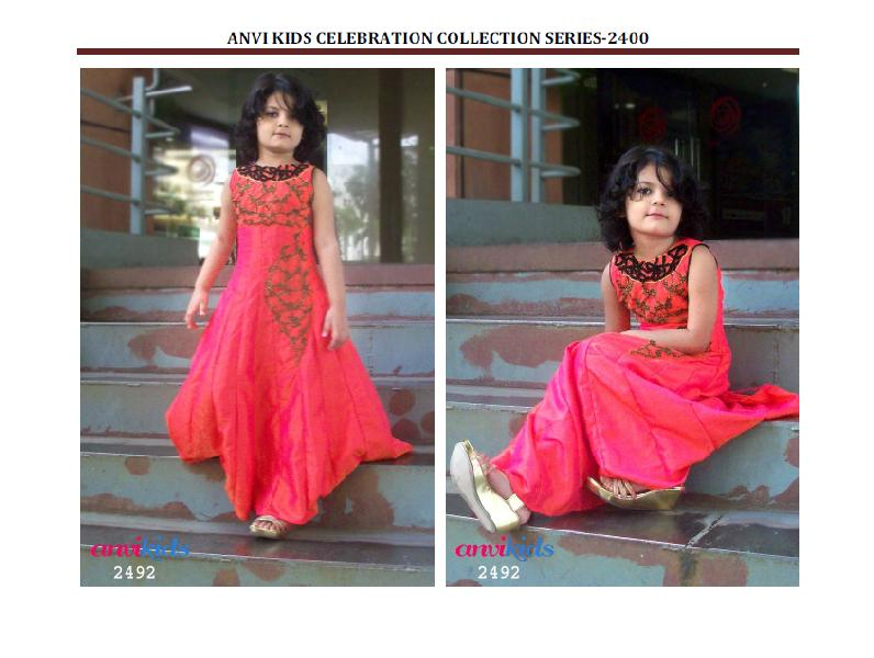 10ff38cf487 Indian Girls Gown long party wear dress Manufacturer in West Bengal ...