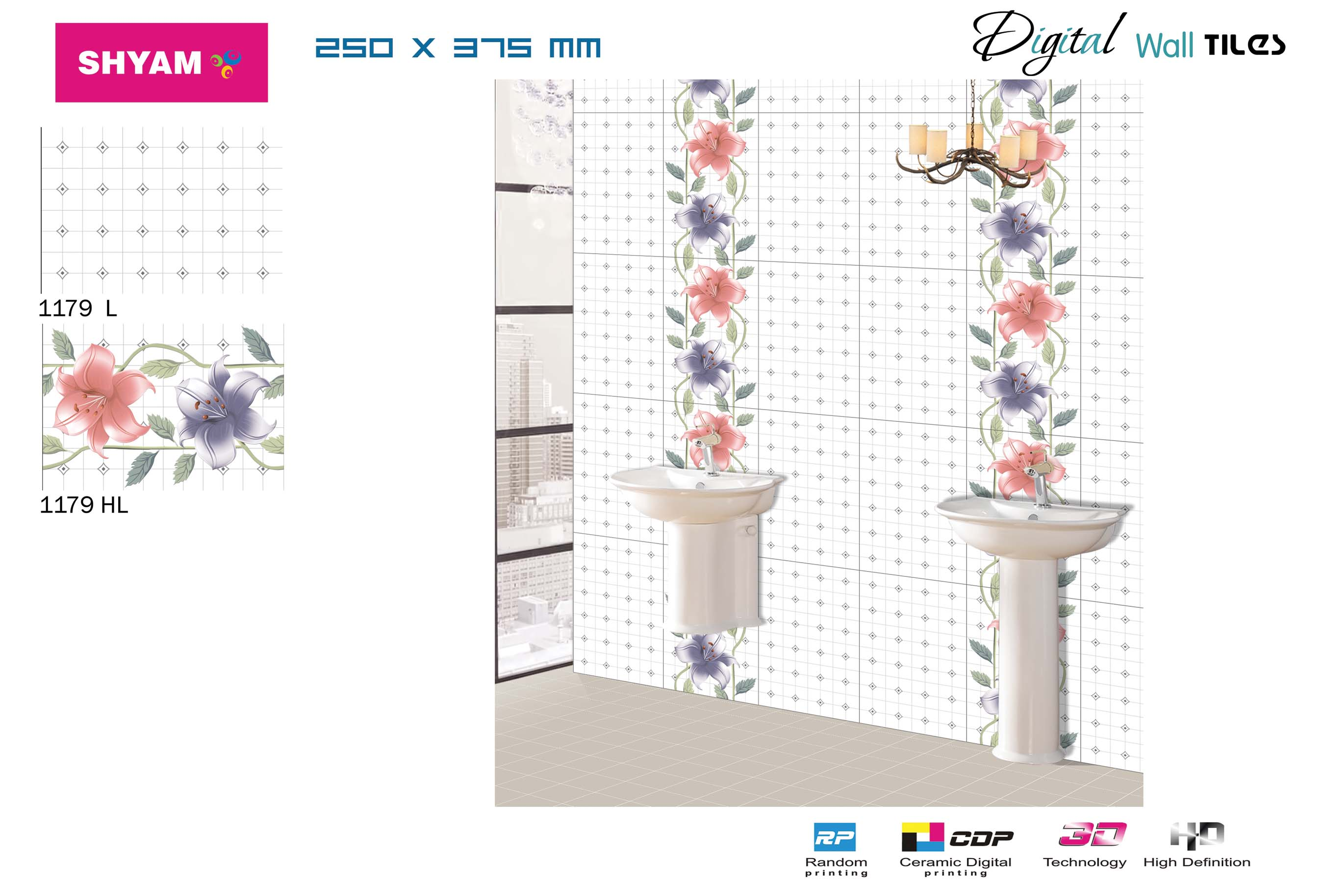 Digital Wall Tiles Manufacturer in Gujarat India by Sedona