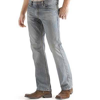 Low Boot Cut Jeans