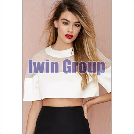 4c0cfa153a0dc Ladies Short Top Manufacturer in Delhi Delhi India by Iwin Group ...