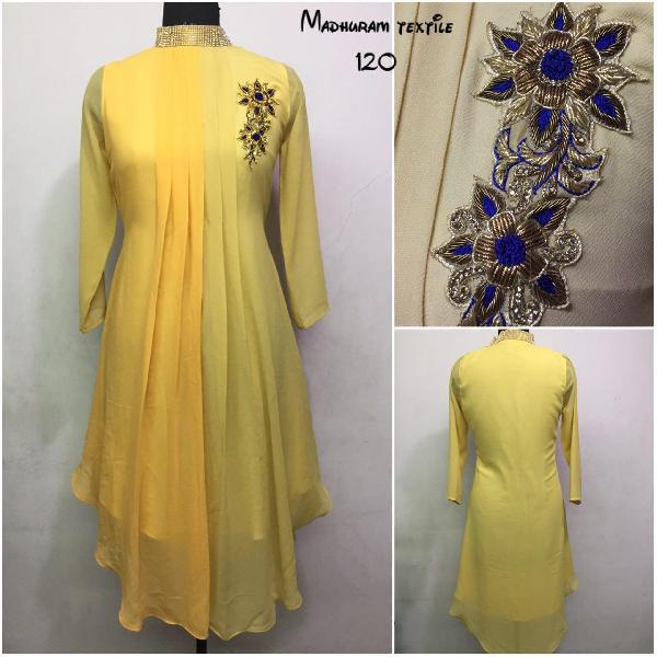 Kurtis Manufacturer in Gujarat India by Madhuram Textile | ID - 2530879