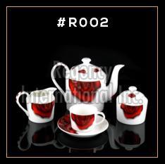 Red Rose Series Tea & Coffee Set