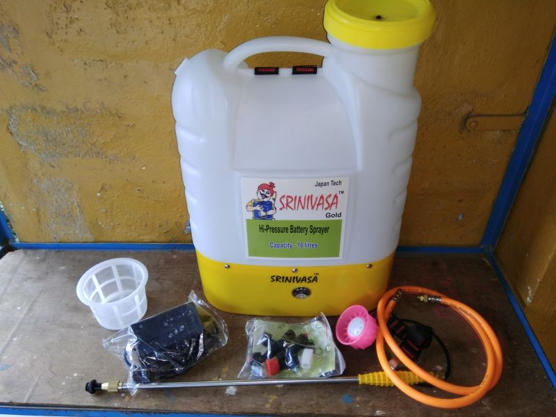 Srinivasa Gold High Pressure Battery Sprayer