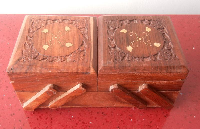 Wooden Carved Boxes