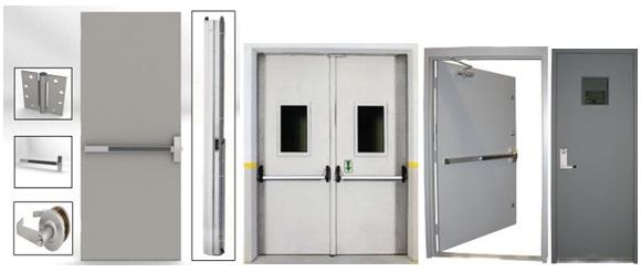 Fire Rated Steel Doors : Fire doors acodor manufacturer in gujarat india by