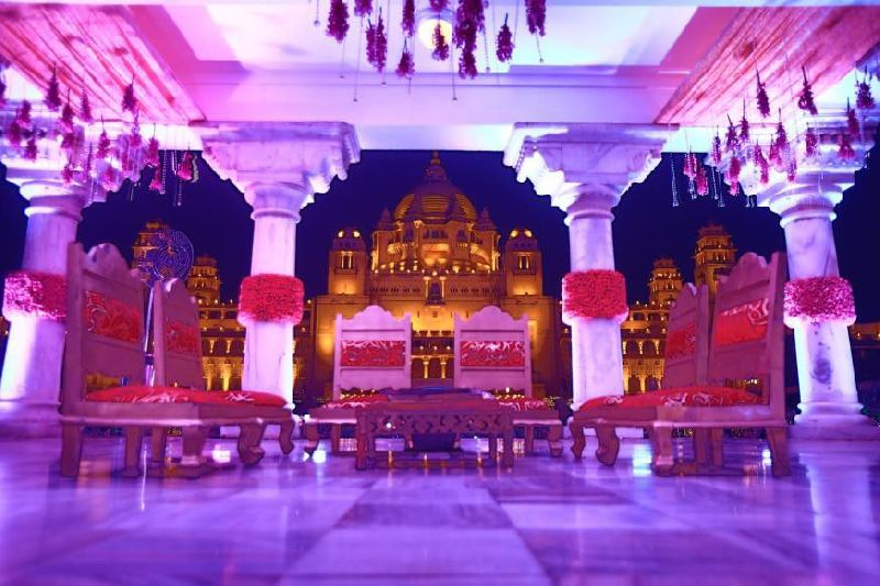 Phera Mandap Stage Decoration
