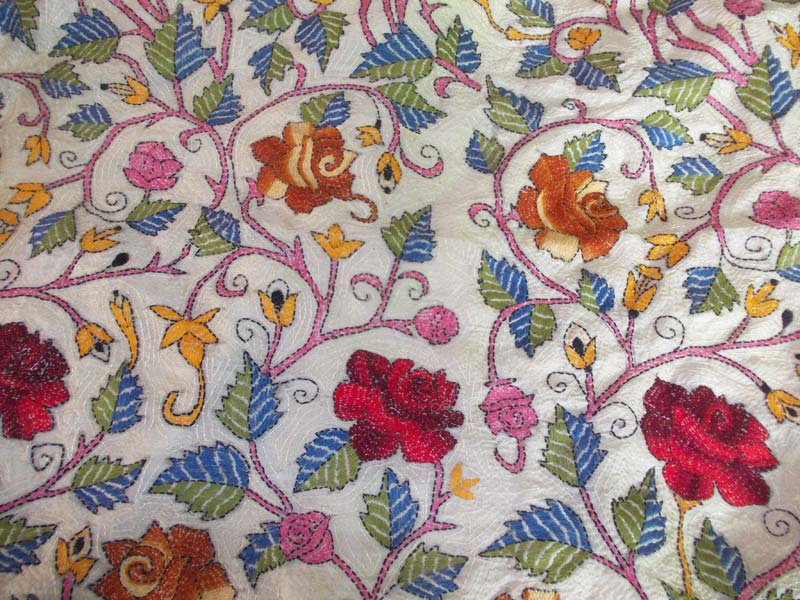 kantha embroidery works dupatta 975001