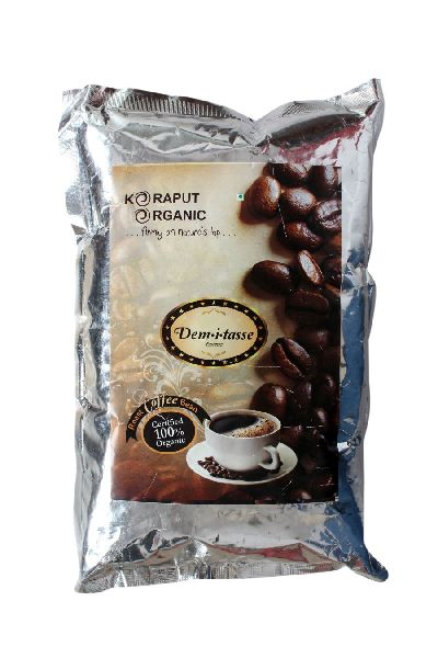 Certified Organic Roasted Coffee Beans