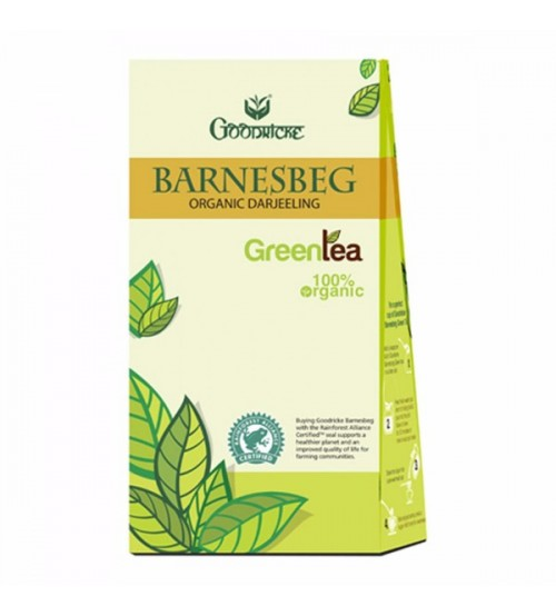 100gm Goodricke Barnesbeg Organic Darjeeling Green Tea