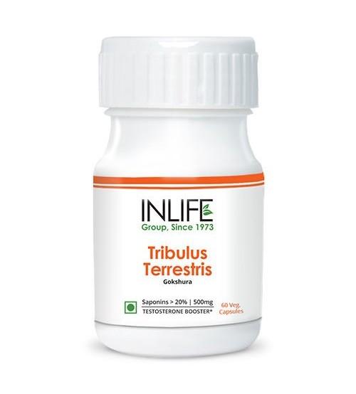 INLIFE Tribulus Terrestris Gokshura 60 Vegetarian Capsule