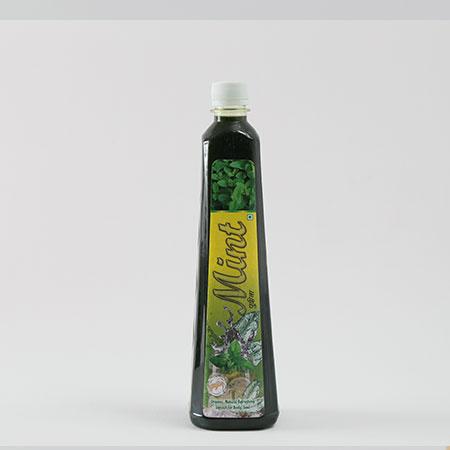 GoJu Organic Mint Squash 750 ml