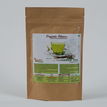 Shree Gayatri Organic Green Tea 50 Gms