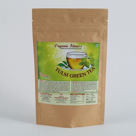 Shree Gayatri Organic Tulsi Green Tea 50 Gms