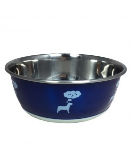 1900ml HUFT Doggie Thoughts Dog Bowl