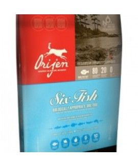 340gm Orijen Six Fish Adult Dog Food