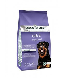 12kg Arden Grange Large Breed Fresh Chicken Rice Dog Food