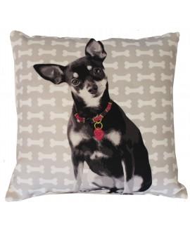 Cute Puppy Cushion Cover