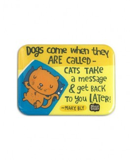 Dogs came when they are called Magnet
