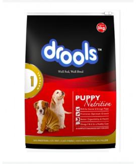 Drools Vegetarian Puppy Food-Dog Food 3Kgs