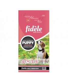 Fidele Small & Medium Puppy Food 4 kg