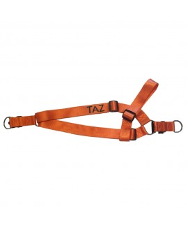 HUFT Barklays Dog Harness- Orange - Xlarge