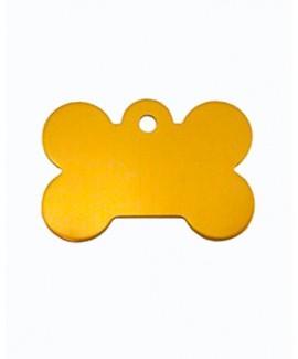 HUFT Bone Dog Name Tag-Golden