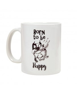 HUFT Born to be Happy Mug