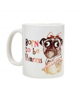 HUFT Born to be Princess Mug