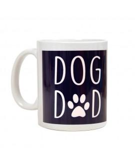 HUFT Dog Dad Coffee Mug - Navy Blue