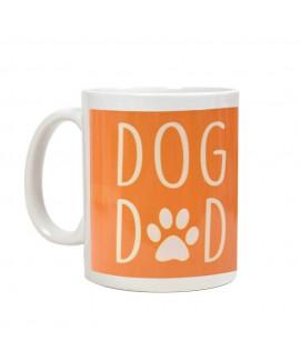HUFT Dog Dad Coffee Mug - Orange