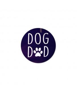 HUFT Dog Dad Fridge Magnet - Navy Blue