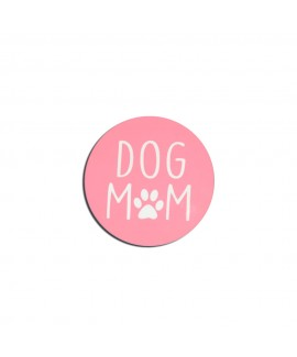 HUFT Dog Mom Fridge Magnets - Peach