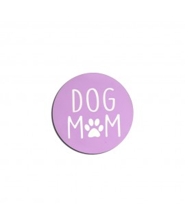 HUFT Dog Mom Fridge Magnets - Purple
