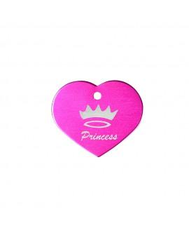 HUFT Dog Name Tag-Princess