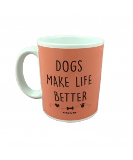 HUFT Dogs Make Life Better Coffee Mug