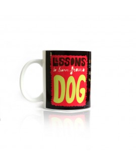 HUFT Lessons to Learn From a DOG Coffee Mug