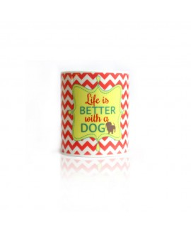 HUFT Life Is Better with a DOG Coffee Mug
