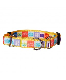 HUFT Mommy's Darling Pet Martingale Dog Collar - L