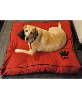 HUFT Personalised Dog Bed-Red