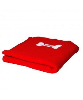 HUFT Red Woof Dog Blanket - 2XL