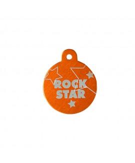 HUFT Rockstar Dog Name Tag