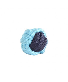 HUFT Rope Ball-Dog Toy Blue