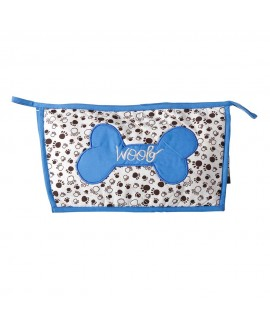 HUFT Woof Utility Pouch Blue