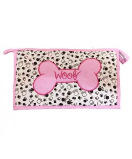 HUFT Woof Utility Pouch-Pink