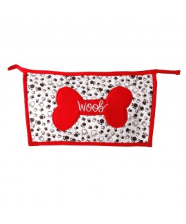 HUFT Woof Utility Pouch-Red